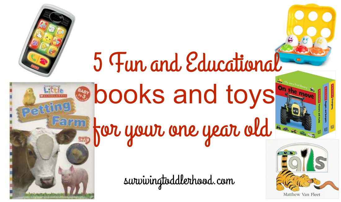 5 Fun And Educational Gifts For Your One Year Old